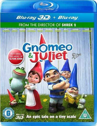 Гномео и Джульетта / Gnomeo and Juliet (Келли Эсбёри / Kelly Asbury) [2011, мультфильм, фэнтези, мелодрама, комедия, BDRip 720p] DUB