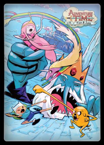 Время приключений / Adventure Time / Сезон: 10 / Серии: 1-13 из 13 (Ларри Лэйчлитер / Larry Leichliter) [2018, фэнтези, комедия, приключения,BDRip 1080p] Dub + VO (Т.О Друзей) + Original + Sub (Rus, Eng)