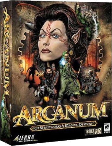 Arcanum: Of Steamworks & Magick Obscura (v.1.0.7.4. Fan Edition) (RePack) [2005/RUS]