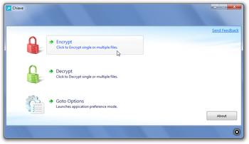 Chiave File Encryption – бесплатная утилита для шифрования папок и файлов