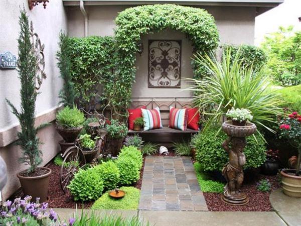 Украшение двора частного дома своими руками к