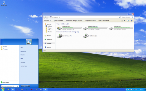Download windows 10 theme for xp.