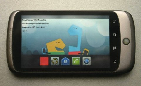 MeeGo портировали на Nexus One