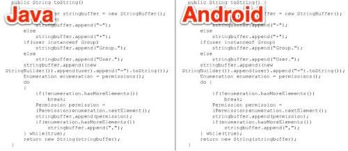 В исходниках Android обнаружен скопированный Java код