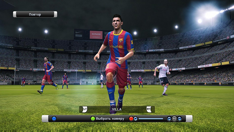 Pro Evolution Soccer 2011 [DEMO] [2010/RUS]