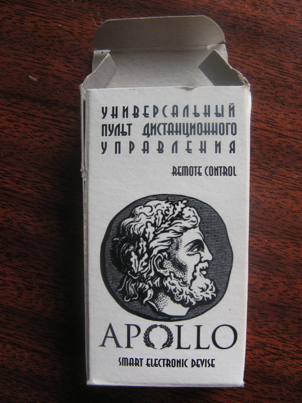 Программирование пульта APOLLO FL