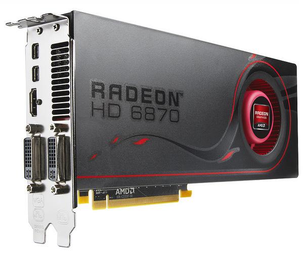 AMD запускает новую серию ускорителей HD 6800
