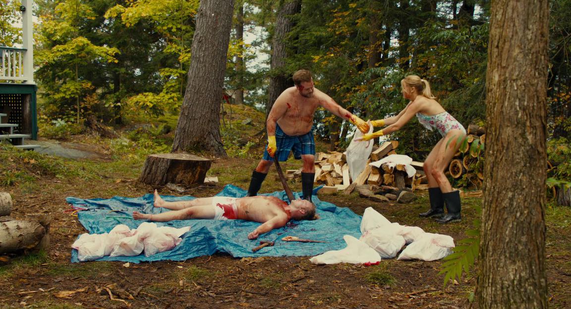 Убойный уикенд / Cottage Country (2012) BDRip-AVC | Гоблин