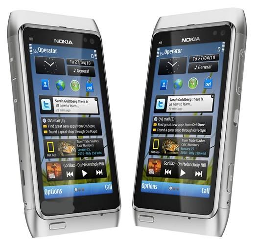 Работа multi-touch на Nokia N8