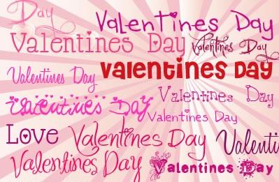 100 Valentine Fonts