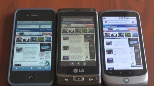 Windows Phone 7 Vs. iOS Vs. Android