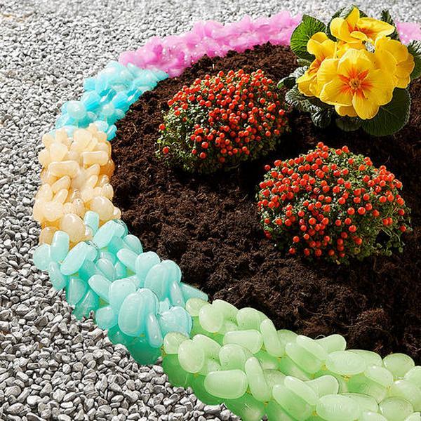 Цветник около дома своими руками мастер класс
