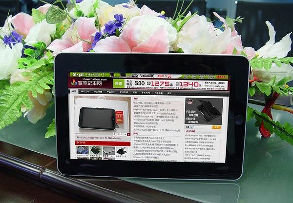 Китайская компания Zenithink клонировала iPad