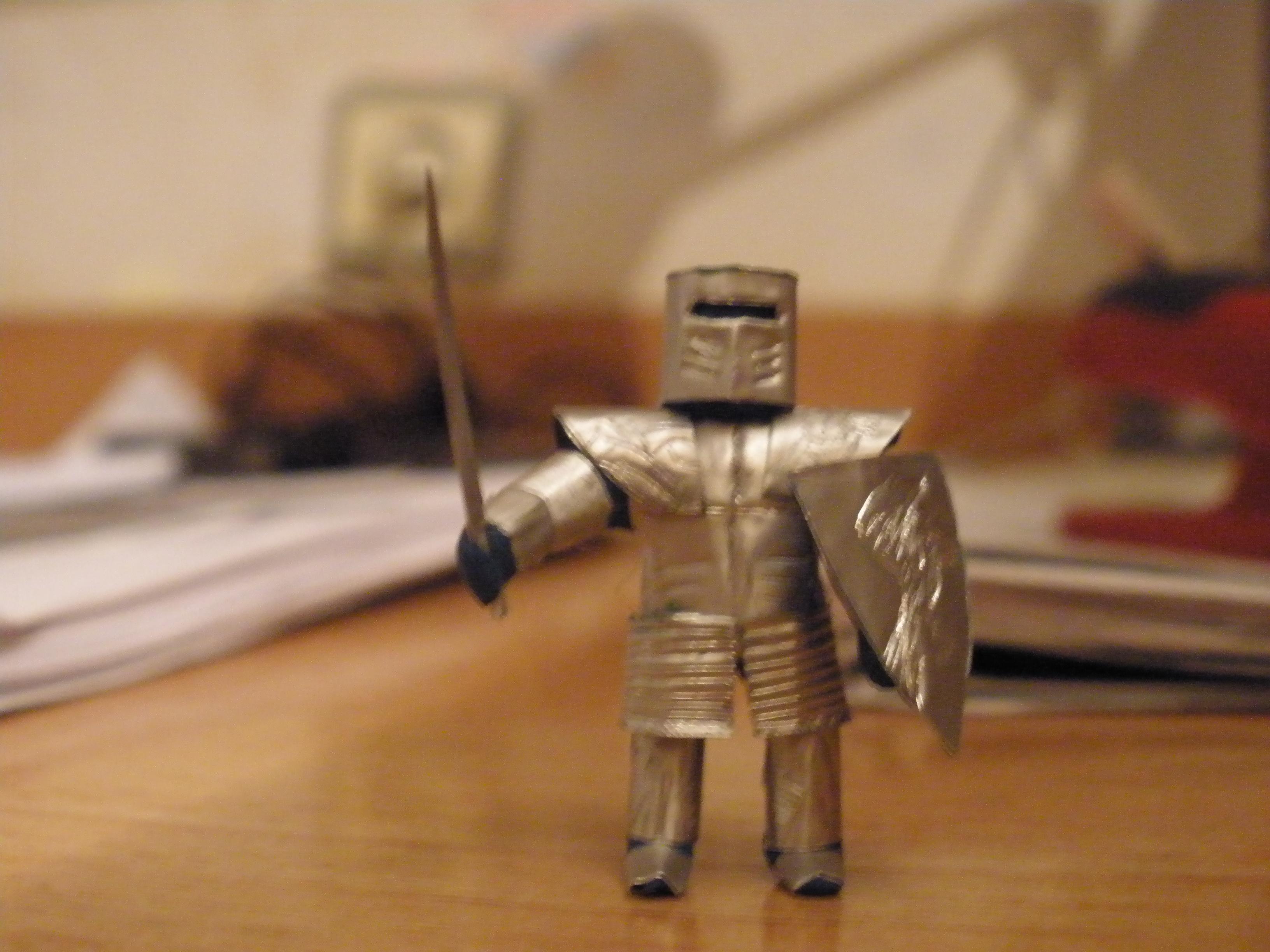 Как сделать рыцаря пластилина