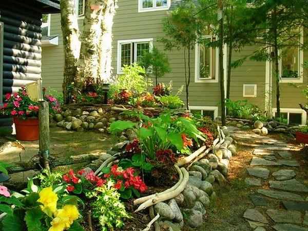 Дизайн садового участка - Ландшафтный дизайн приусадебного участка
