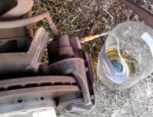 Замена тормозной жидкости владивосток