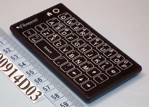 Миниатюрная тачпад-клавиатура от Hawking Technology