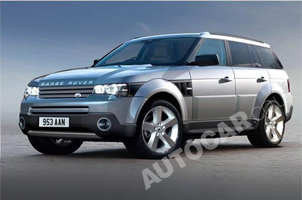Салон Range Rover обещает