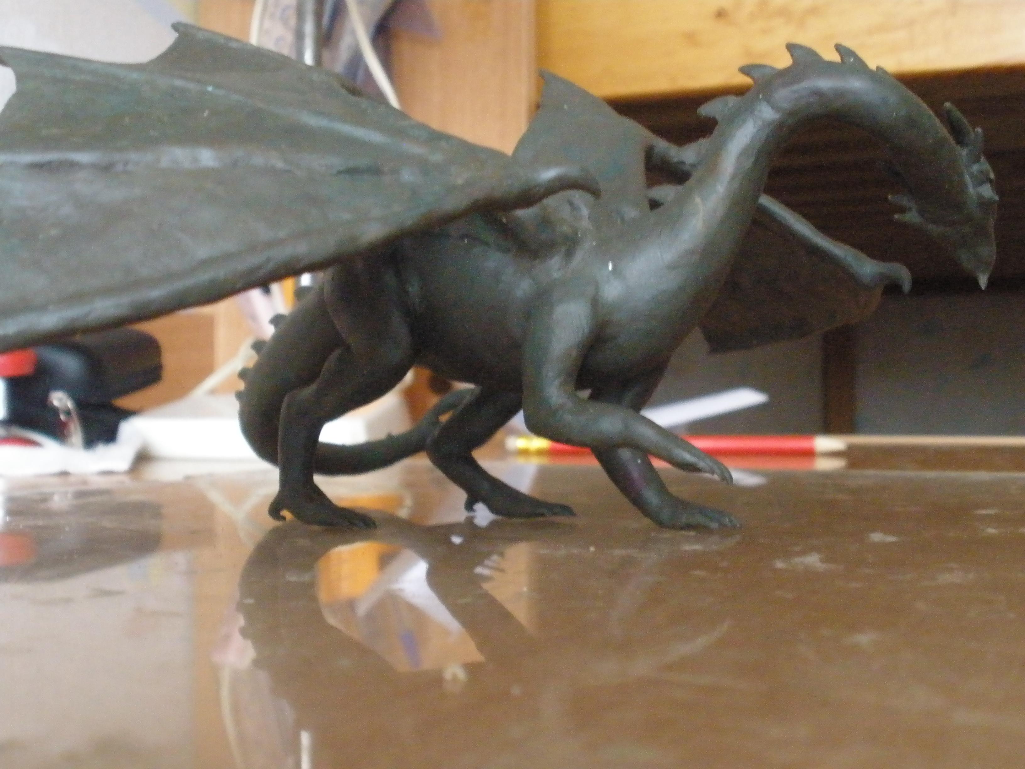 дракончики из пластилина пошаговая инструкция