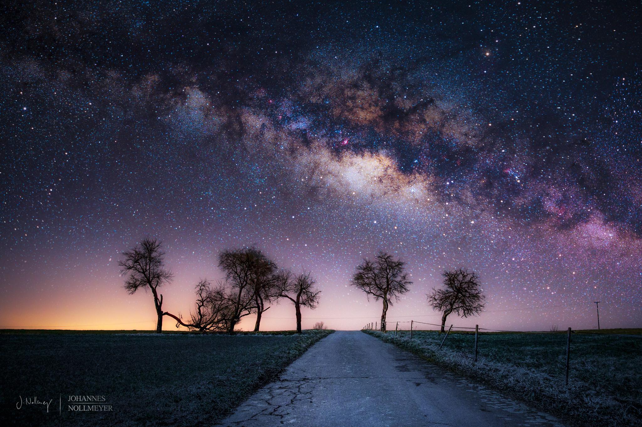 Звездное небо фото 2