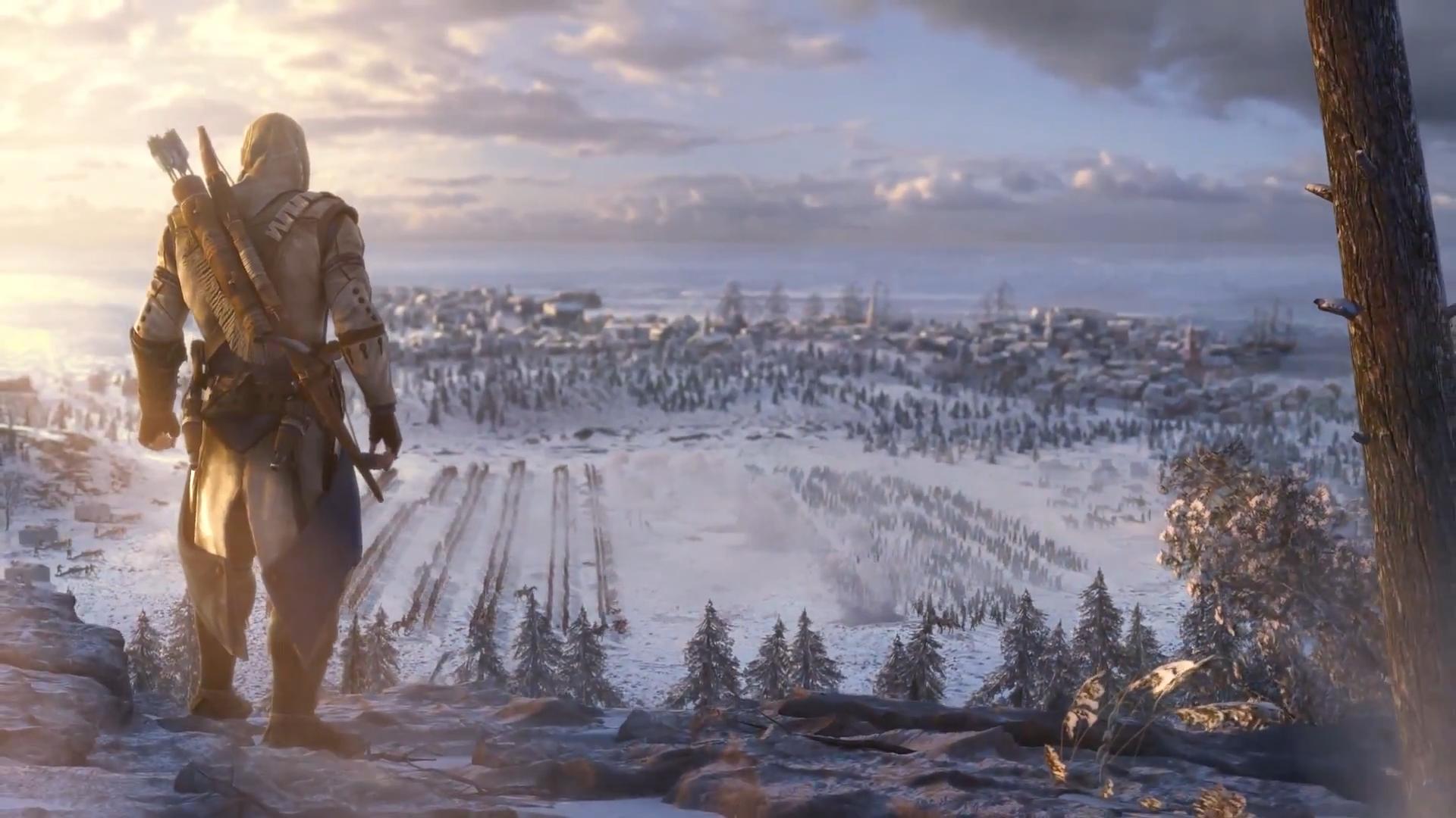 Assassin's Creed III - обои для рабочего стола (а так же геймарт)