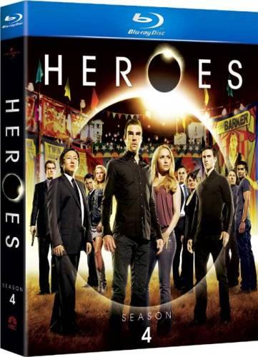 Герои / Heroes (Greg Beeman / Грег Биман, Paul A. Edwards / Пол А. Эдвардс, Allan Arkush / Аллан Аркуш) (Сезон: 4, Серии: 19 из 19)  [2009, драма, фантастика, BDRip 720p] (LostFilm / NovaFilm / Original)