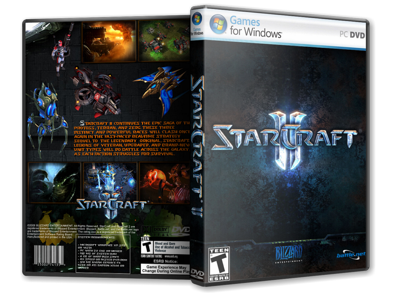 StarCraft II: Wings of Liberty (Blizzard Entertainmen​t) (ENG/RUS) [L]
