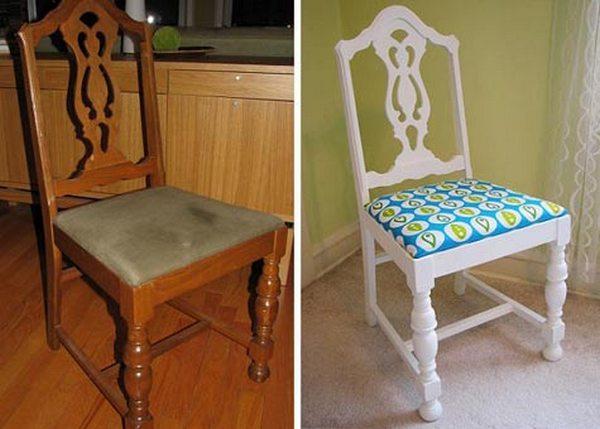 Как задекорировать старое кресло фото