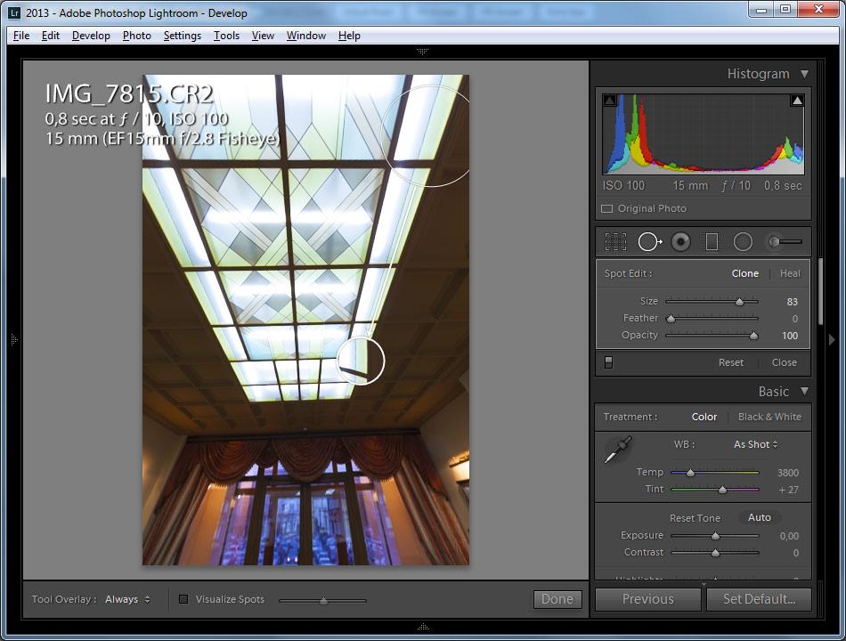 Нет папки adobe lightroom develop presets